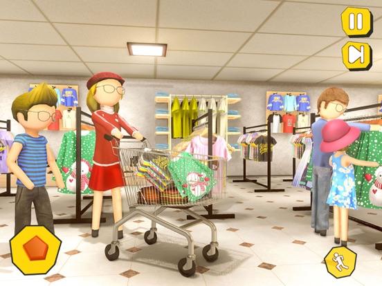 Shopping Mall- Stickman Family screenshot 7