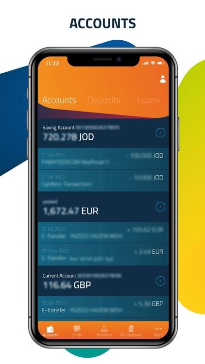 BOJ Mobile - بنك الأردن screenshot-3