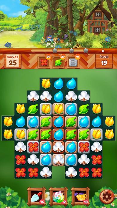 ガーデンドリームライフ:フラワーマッチ3パズルのおすすめ画像4