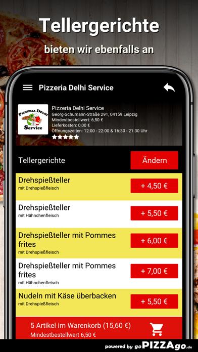 Pizzeria Delhi Service Leipzig screenshot 6