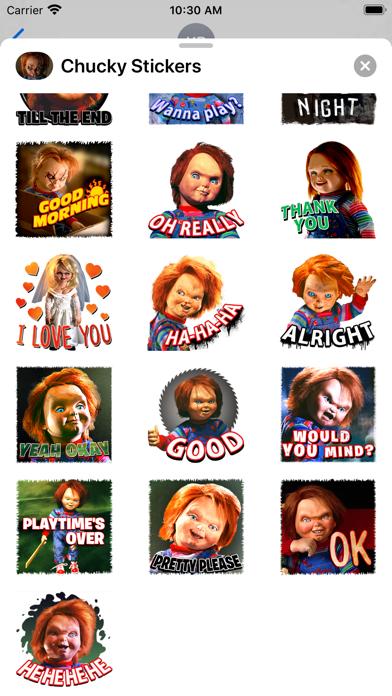 Chucky Stickers screenshot 3