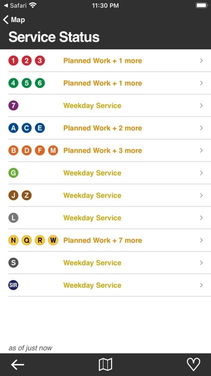 Underway: NYC Subway Transit screenshot-5