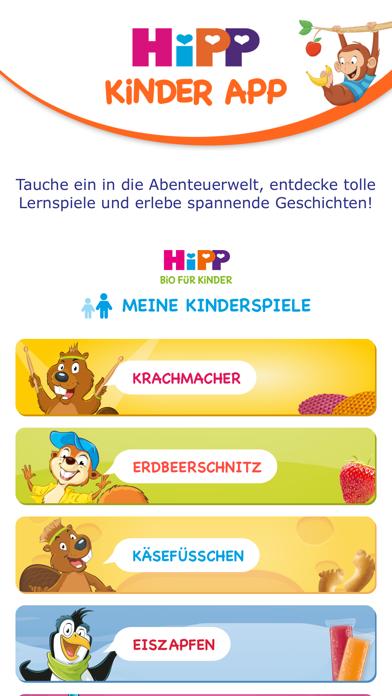 HiPP Kinder AppScreenshot von 1