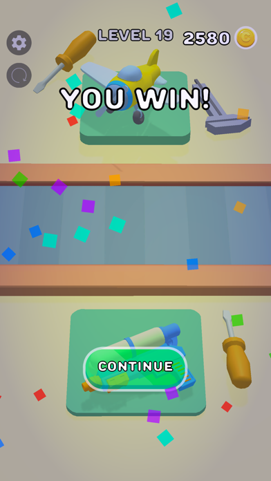 Robosort screenshot 1