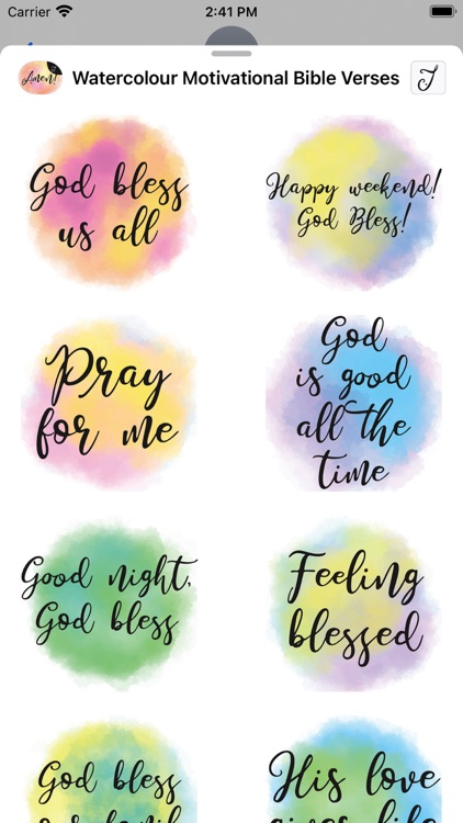 Watercolour Motivational Bible screenshot-5