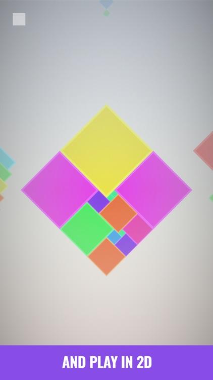 Isometric Squares - puzzle ² screenshot-4