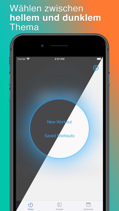 ProtoFit: Sport Interval TimerScreenshot von 6