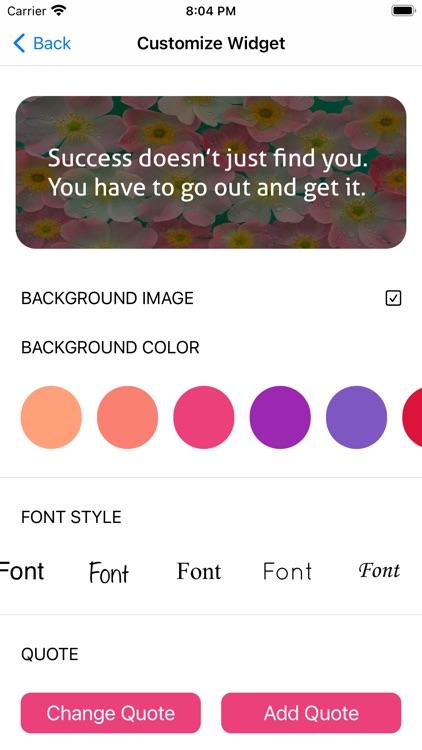 Thought Widget -Custom Designs