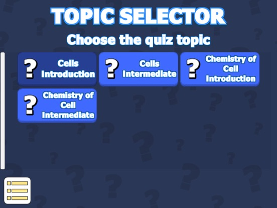 Cell Anatomy & Physiology Quiz screenshot 8