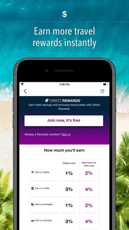 Orbitz Hotels & Flights screenshot-6