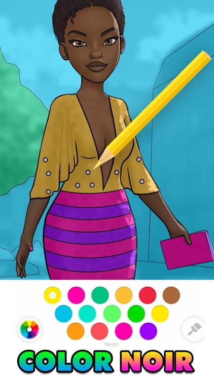 Color Noir: Coloring Art Games