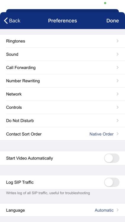 iConnect Softphone