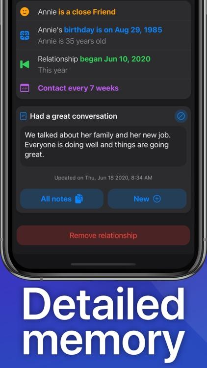 Relate - Relationship Manager screenshot-3