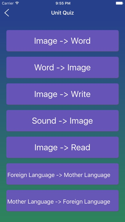 Korean Word Flashcards Learn screenshot-4