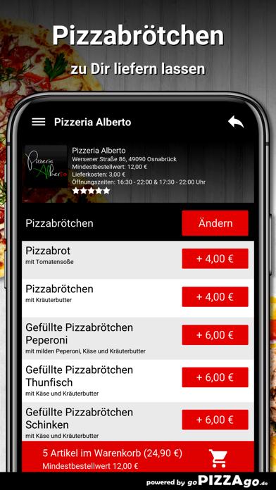 Pizzeria Alberto Osnabrück screenshot 4
