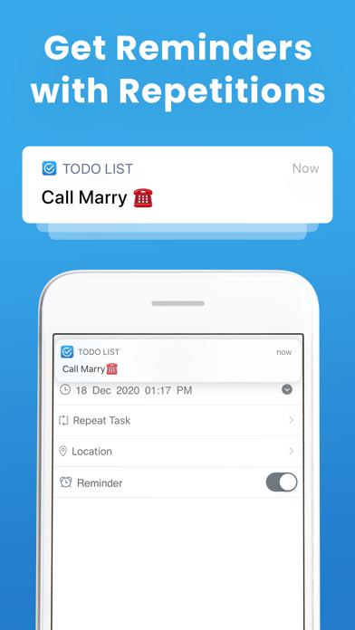 To Do List Task Manager Screenshot