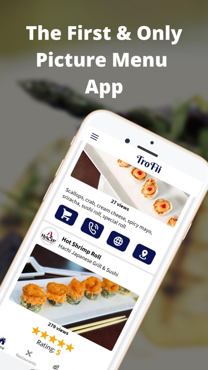 TroFii® – Picture Menu App screenshot-0