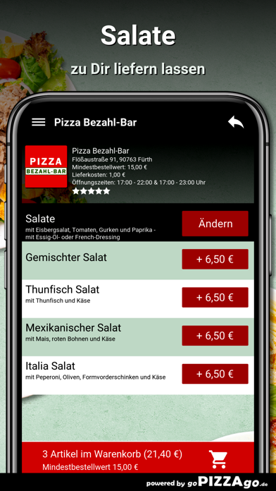 Pizza Bezahl-Bar Fürth screenshot 5