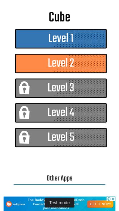 Cube [Brain training maze] screenshot 1