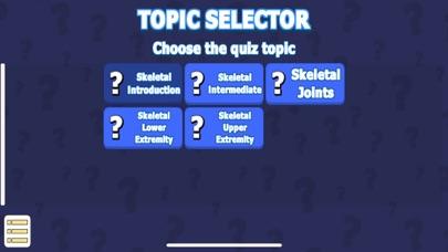 Skeletal System Quiz & Anatomy screenshot 1