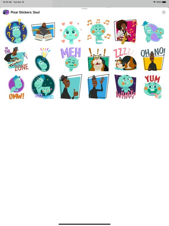 Pixar Stickers: Soul screenshot 9