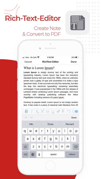 PDF Export - PDF Editor & Scan screenshot-8