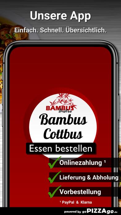 Bambus Bistro Cottbus screenshot 1