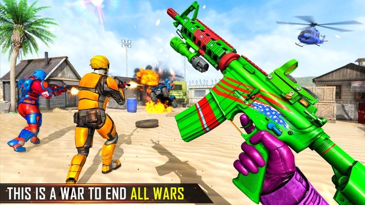 Mech War Robot Shooting Games screenshot-6