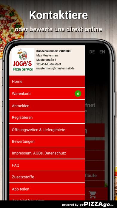 Jogas Pizza Service Taucha screenshot 3
