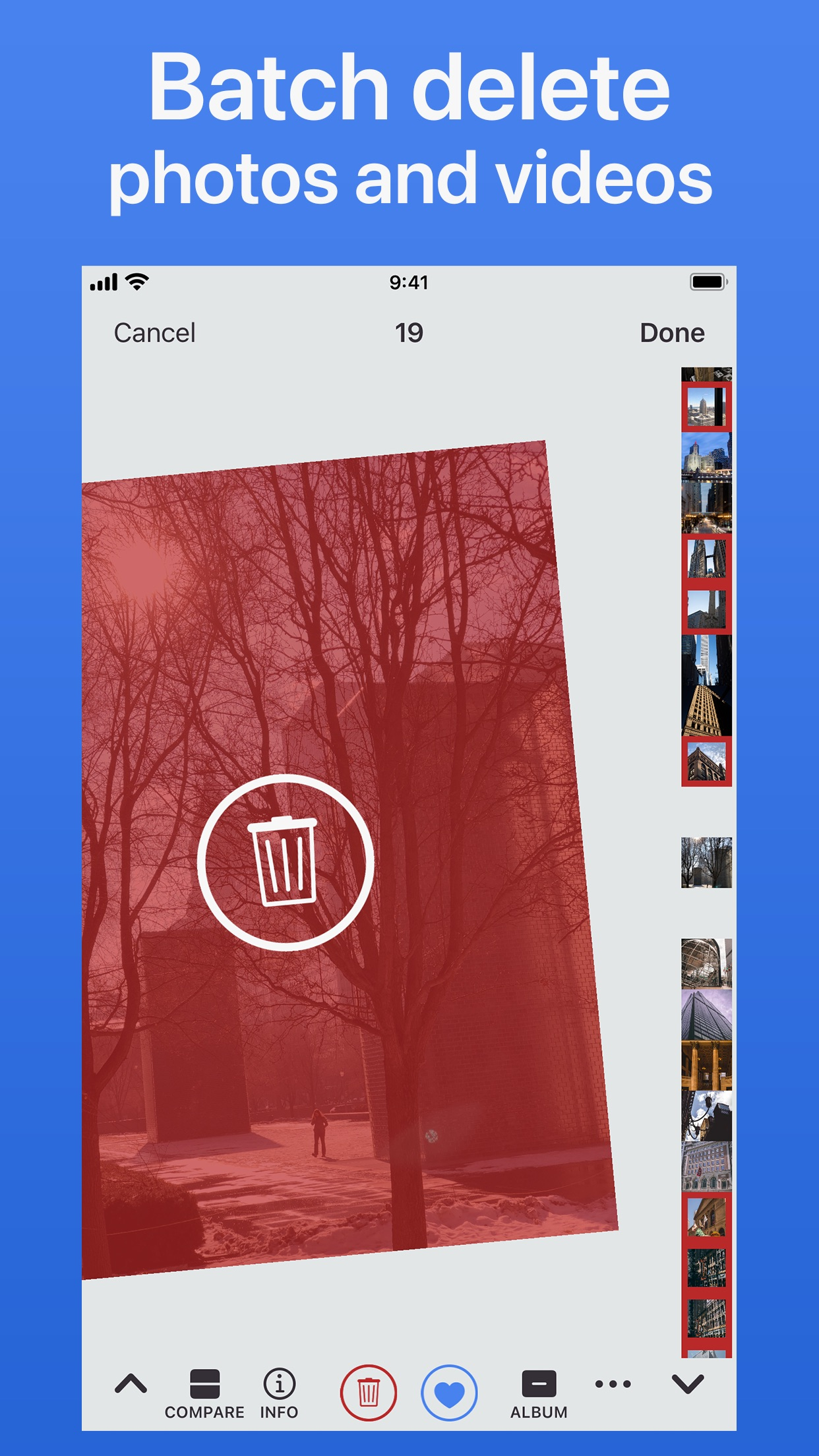 Screenshot do app BestPhotos - Library Manager