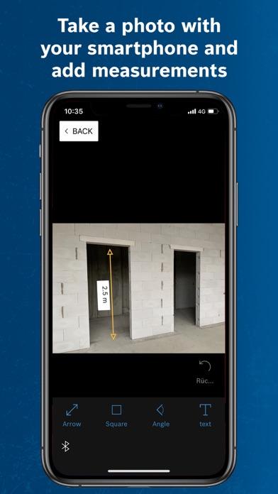 Screen Shot Bosch MeasureOn 1