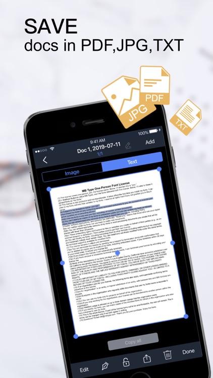 PDF Scanner-Documents Scan App