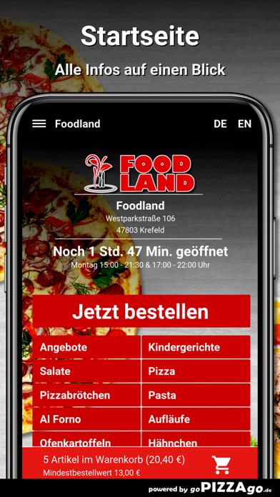 Foodland Krefeld screenshot 2