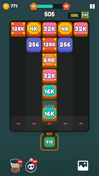 Number Shoot - Merge Puzzle screenshot-3