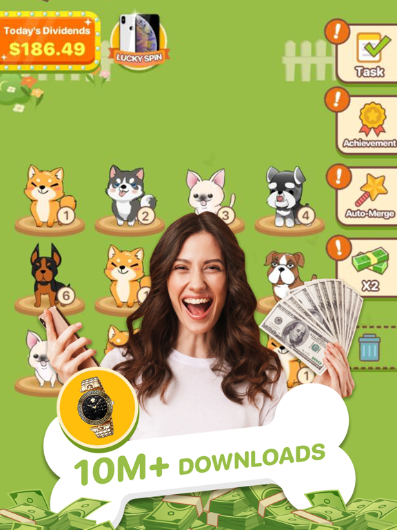Puppy Town - Merge & Win screenshot 10