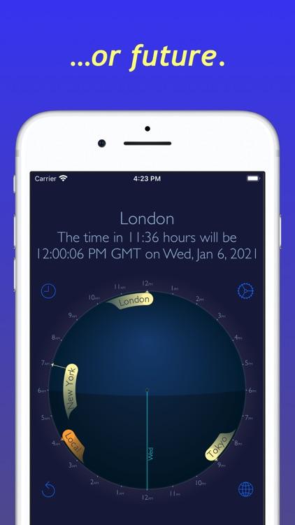 World Time Travel Clock screenshot-3