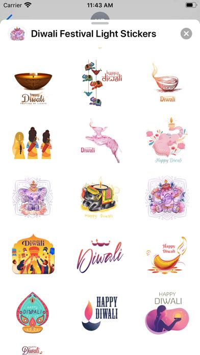 Diwali Festival Light Stickers screenshot 3
