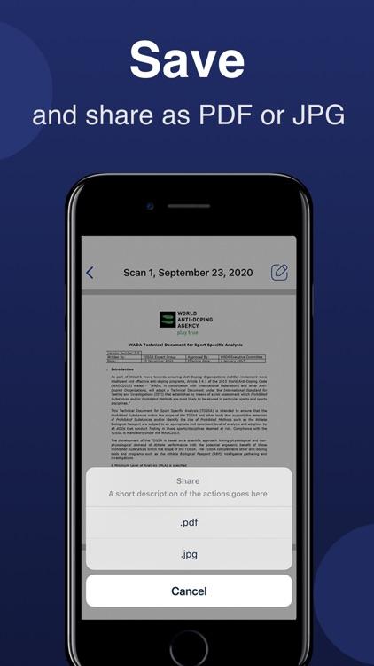 Scanner-App: Scan Text & Notes screenshot-5
