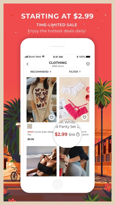 Download Blush Mark: Women's Clothing for Android