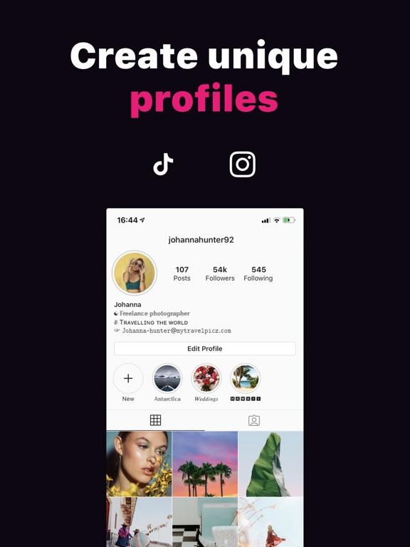 iPad Image of Fontkey - Fonts for Social