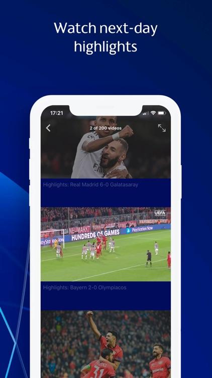 Champions League football screenshot-3