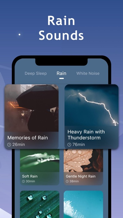Mintal Sleep:Deep Sleep Sounds Screenshot