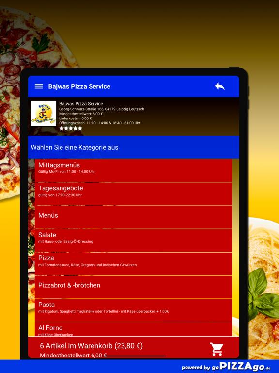 Bajwas Pizza Leipzig Leutzsch screenshot 8