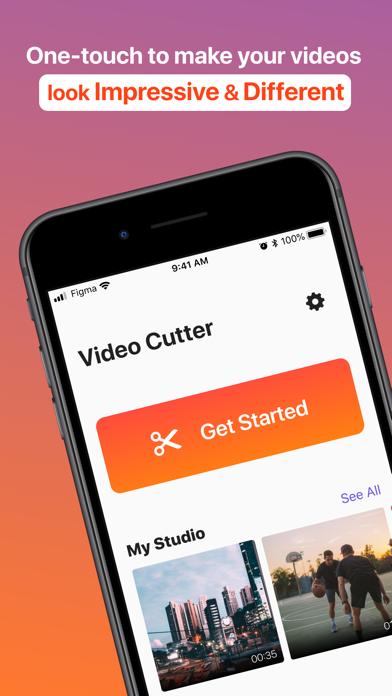 Cut Videos: Edit & Trim Video Screenshot