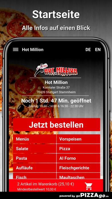 Hot Million Stuttgart screenshot 2