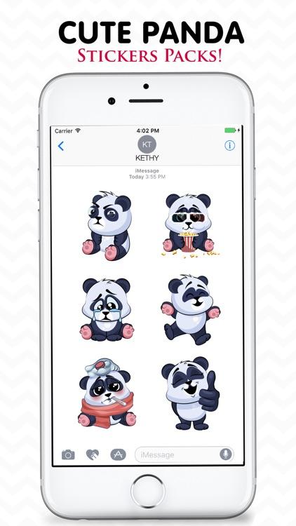 Cute Panda Stickers Pack!