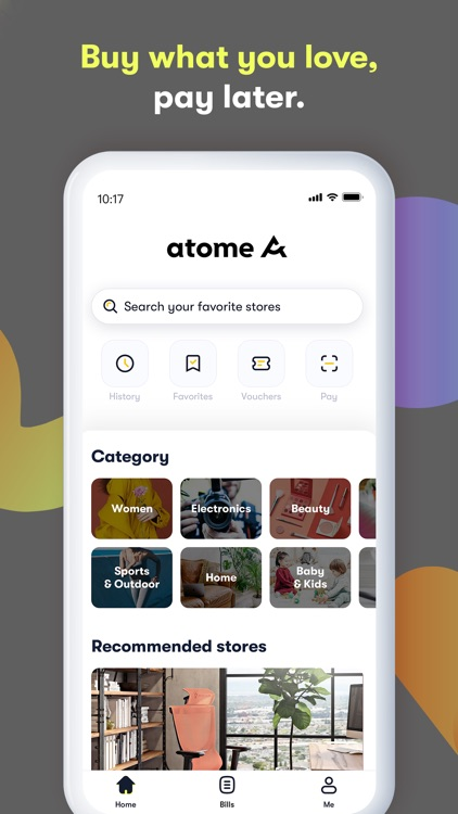 atome SG - Buy now. Pay later