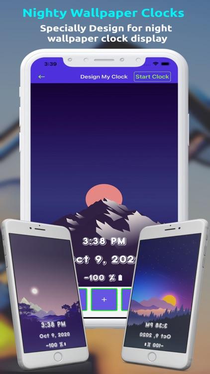 ClockDisplay - Time Wallpaper screenshot-5