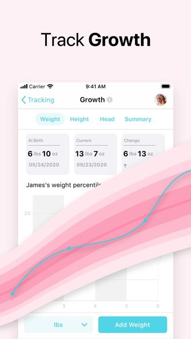 Baby +   Growth trackerScreenshot of 2