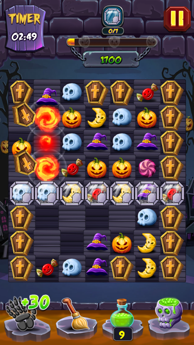 Lost Pumpkin - A Match Puzzle screenshot 7